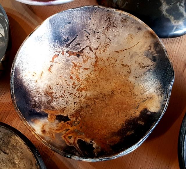 Résultat de cuisson en pit firing